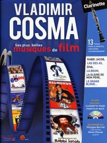 COSMA V. MUSIQUES DE FILM CLARINETTE