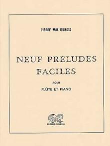 DUBOIS P.M. PRELUDES FACILES FLUTE