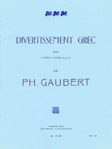 GAUBERT P. DIVERTISSEMENT GREC FLUTES