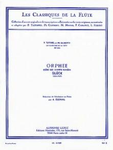 GLUCK C.W.V. ORPHEE SCENE DES CHAMPS ELYSEES FLUTE