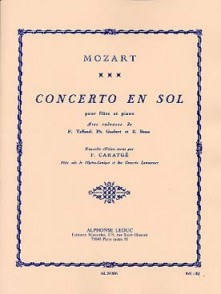 MOZART W.A. CONCERTO N°1 K 313 FLUTE