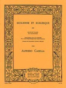 CASELLA A. SICILIENNE BURLESQUE FLUTE