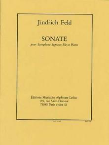FELD J. SONATE SAXOPHONE SOPRANO