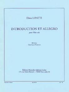 LIPATTI D. INTRODUCTION ALLEGRO FLUTE SOLO