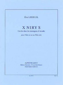 LEDEUIL E. X NIRY S FLUTE SOLO