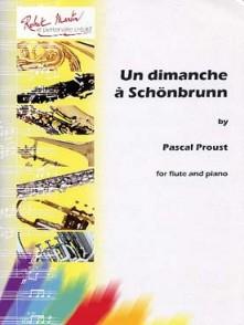 PROUST P. UN DIMANCHE A SCHOBRUNN FLUTE
