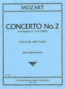 MOZART W.A. CONCERTO N°2 RE MAJEUR FLUTE