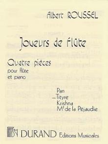 ROUSSEL A. JOUEURS DE FLUTE: TITYRE FLUTE