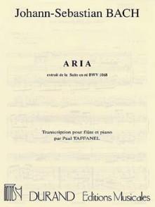 BACH J.S. ARIA FLUTE