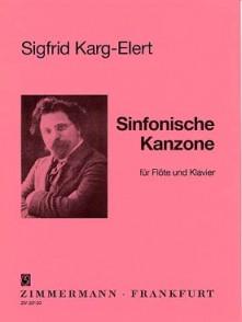 KARG-ELERT S. SINFONISCHE KANZONE FLUTE