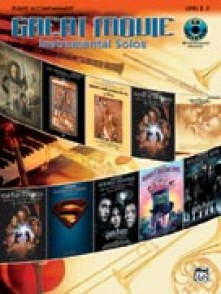 GREAT MOVIE INSTRUMENTAL SOLOS ACCOMPAGNEMENT PIANO