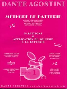 AGOSTINI DANTE METHODE DE BATTERIE VOL 1