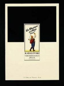 KABALEVSKI D. VARIATIONS FACILES OP 51 PIANO