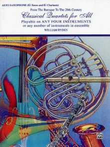 RYDEN W. CLASSICAL QUARTETS FOR ALL SAXOS