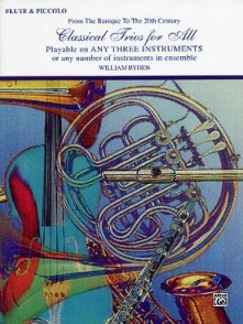 RYDEN W. CLASSICAL TRIOS FOR ALL FLUTES