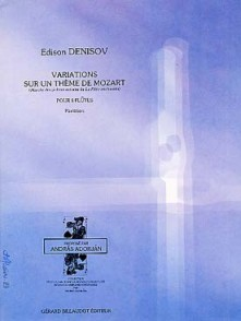 DENISOV E. VARIATIONS SUR MOZART FLUTES