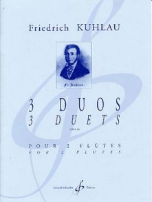 KUHLAU F. DUOS OP 80 FLUTES