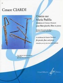 CIARDI C. DUETTO SUR MARIA DALLA PADILLA FLUTES
