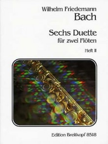 BACH W.F. 6 DUOS VOL 2 FLUTES