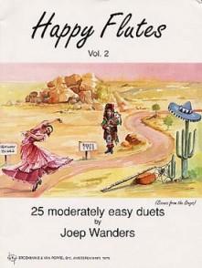 WANDERS J. HAPPY FLUTES VOL 2 DUOS