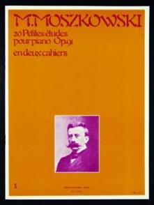 MOSZKOWSKI M. 20 PETITES ETUDES OP 91 VOL 1 PIANO