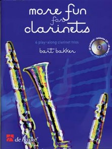 BAKKER B. MORE FUN FOR CLARINETS