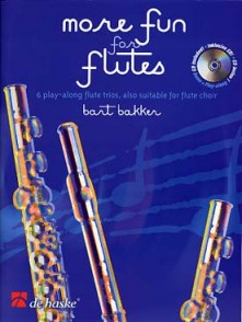 BAKKER B. MORE FUN FOR FLUTES