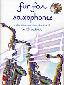 BAKKER B. FUN FOR SAXOPHONES