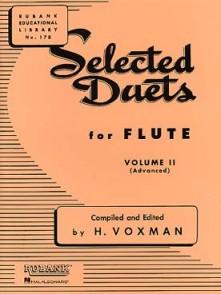 VOXMAN H. SELECTED DUETS VOL 2 FLUTES