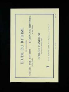 DANDELOT G. ETUDE DU RYTHME VOL 1