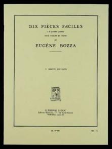 BOZZA E. MENUET DES PAGES VIOLON
