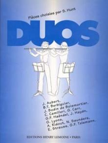 DUOS PIECES CHOISIES 2 FLUTES