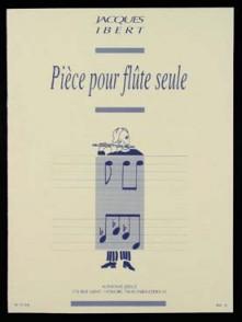 IBERT J. PIECE POUR FLUTE SOLO