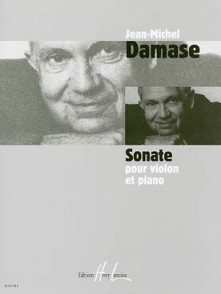 DAMASE J.M. SONATE N°1 VIOLON
