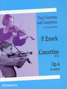 ESSEK P. CONCERTINO OP 4 EN G VIOLON