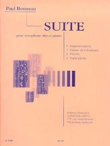 BONNEAU P. SUITE SAXO ALTO