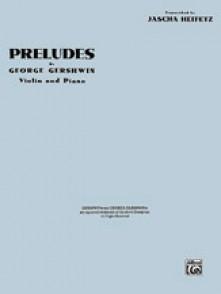 GERSHWIN G. PRELUDES VIOLON