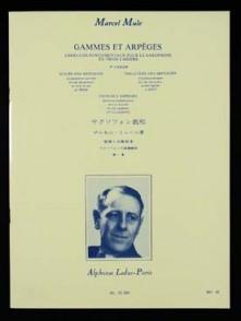 MULE M. GAMMES ET ARPEGES VOL 1 SAXOPHONE