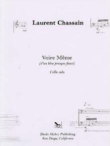 CHASSAIN L. VOIRE MEME VIOLONCELLE
