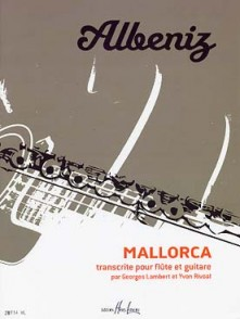 ALBENIZ I. MALLORCA FLUTE GUITARE