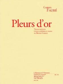 FAURE G. PLEURS D'OR FLUTES