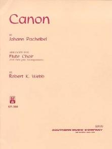 PACHELBEL J. CANON FLUTES