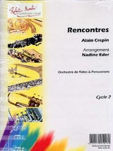CREPIN A. RENCONTRES FLUTES ET PERCUSSIONS