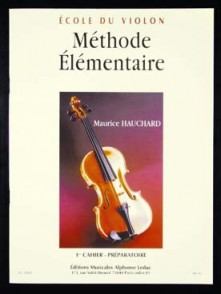 HAUCHARD M. METHODE ELEMENTAIRE VOL 1 VIOLON