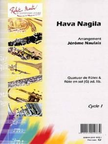 NAULAIS J. HAVA NAGILA FLUTES