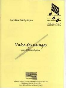 MARTY-LEJON C. VALSE DES NUAGES FLUTES