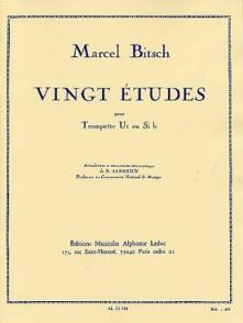 BITSCH M. 20 ETUDES TROMPETTE