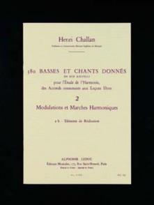 CHALLAN H. 380 BASSES ET CHANTS DONNES VOL 02B