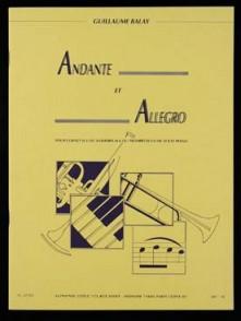 BALAY G. ANDANTE ALLEGRO TROMPETTE