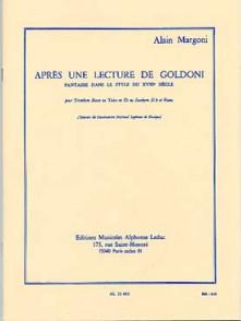 MARGONI A. APRES UNE LECTURE DE GOLDONI TUBA